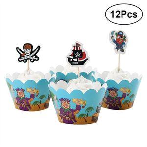 Baby Shower//baptême thème cupcake wrappers x12 Mignon Grande Valeur