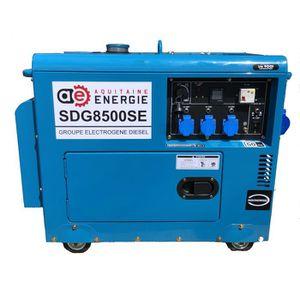 GROUPE ÉLECTROGÈNE groupe électrogène diesel silencieux 8kva max avec