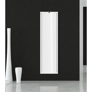 radiateur electrique vertical a inertie achat vente. Black Bedroom Furniture Sets. Home Design Ideas