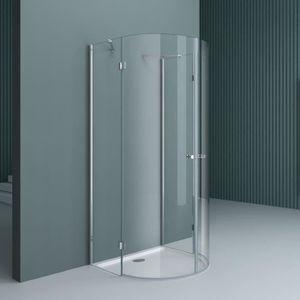 PORTE DE DOUCHE Cabine de douche en demi-cercle pare douche design