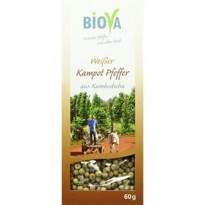 POIVRE Biova Echter blanc poivre de Kampot