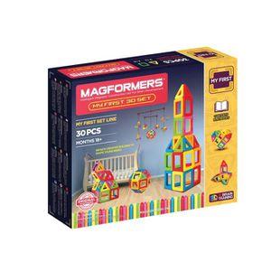 Magformers couleurs pastel 30 magnétique Formes