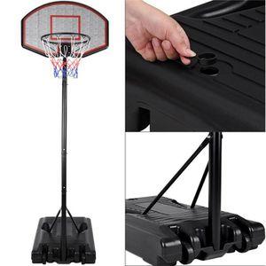 PANIER DE BASKET-BALL Panier de basket sur pied mobile avec roues - Haut