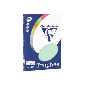 PAPIER IMPRIMANTE Clairefontaine TROPHEE Papier ordinaire vert A4 (2
