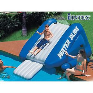 Toboggan g ant gonflable intex water sli achat vente for Achat toboggan gonflable piscine