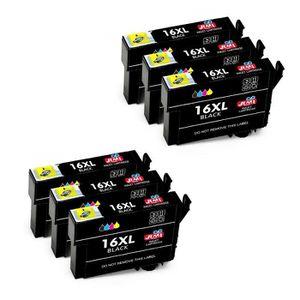 CARTOUCHE IMPRIMANTE 6 Pack Compatible Epson 16 16XL Grande Capacità Ca