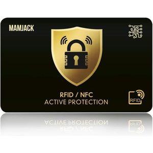 PORTEFEUILLE Carte Anti RFID/NFC Protection Carte bancaire sans