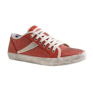 BASKET CAFE NOIR-SEA-SNEAKER-ROUGE