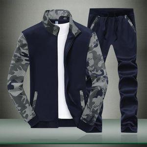 Ensemble de vêtements Survetement homme 2 pièces Veste zippé et pantalon
