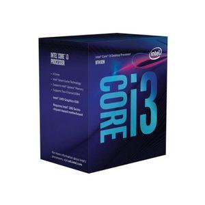 PROCESSEUR Processeur Intel Core i3 8100 3.6GHz BX80684I38100