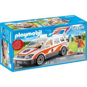 UNIVERS MINIATURE PLAYMOBIL 70050 - City Life Les Secouristes - Voit