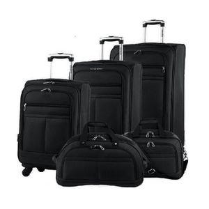 SET DE VALISES Set 4 valises + vanity 4 roues pivotant NOIR