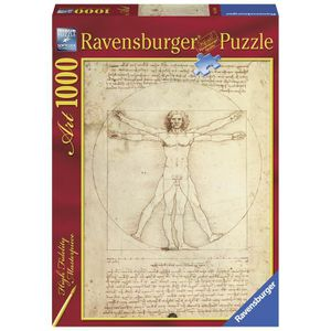 PUZZLE RAVENSBURGER Puzzle 1000 p Art collection - L'homm