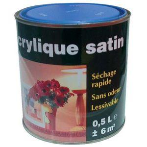 PEINTURE - VERNIS Peinture acrylique - satin - jaune soleil - 2.5 L