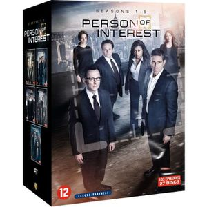 DVD SÉRIE Person of Interest - Saisons 1 à 5 - En DVD