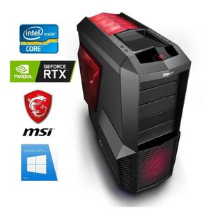 ORDINATEUR TOUT-EN-UN PC Gamer I7-9700K + Watercooling - GeForce RTX 207