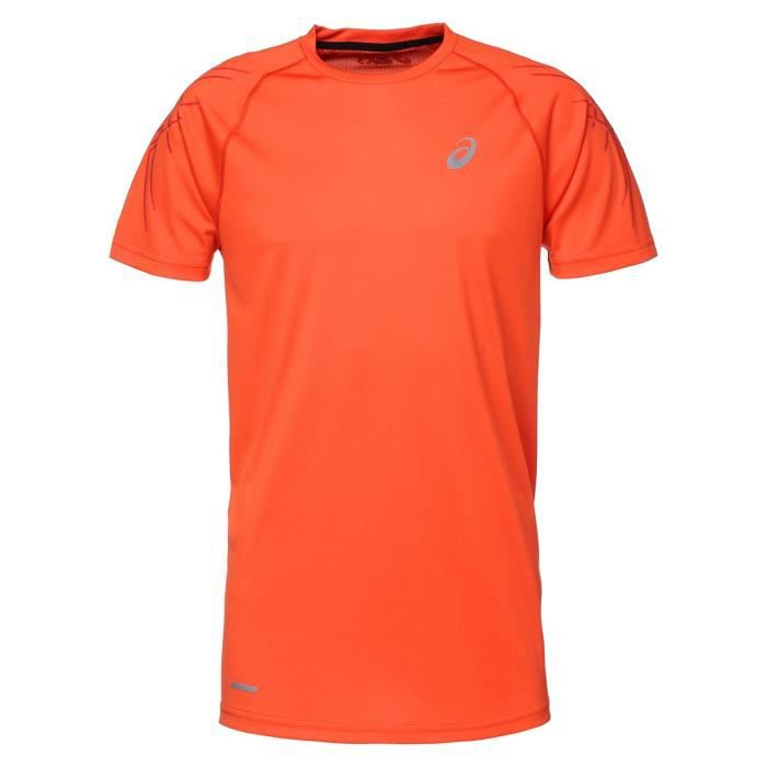 ASICS Speed Tee shirt manches courtes Homme - Orange