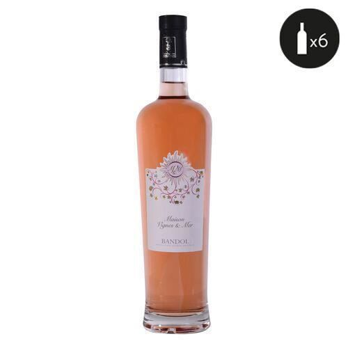 Maison Vignes & Mer Bandol Rosé 2020 6x75cl