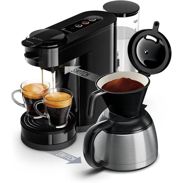 Philips HD6592-61 Machine &agrave caf&eacute SENSEO Switch 2 en 1 Noir (machine &agrave dosettes + machine &agrave caf&eacut13