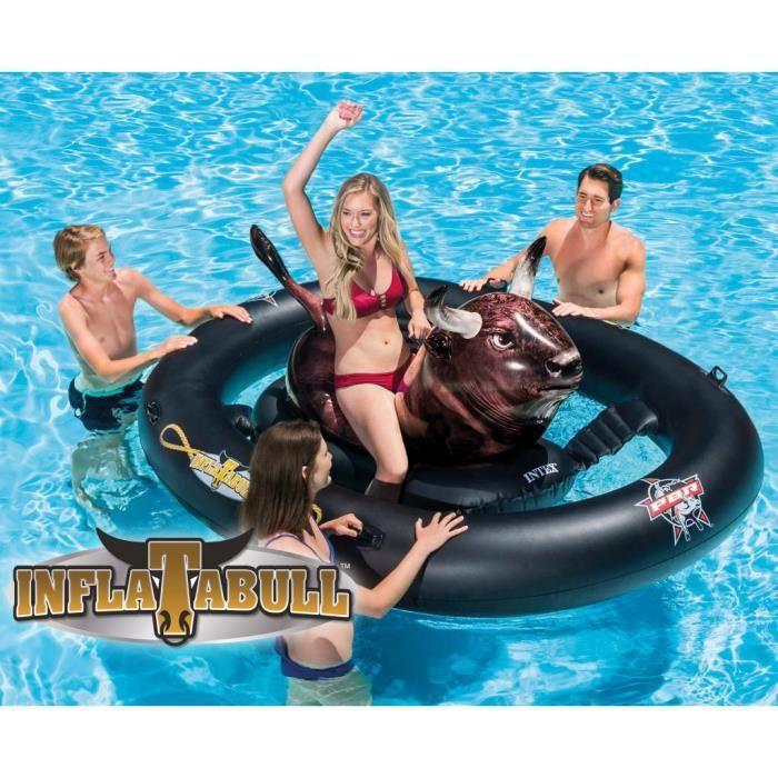 Intex Flotteur pour piscine Inflatabull 56280EU 239 x 196 x 81 cm (L x l x H)