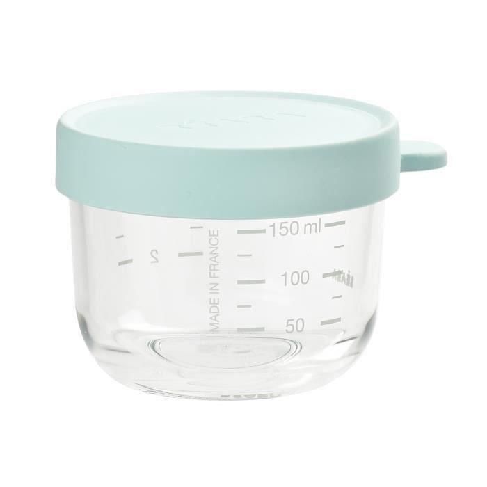 BEABA Portion verre 150 ml light blue