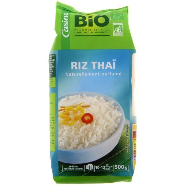 Riz Thai Blanc Bio 500g