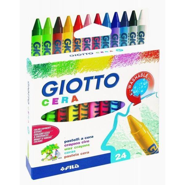 Giotto pastels dans la boîte de 282200 couleurs 24