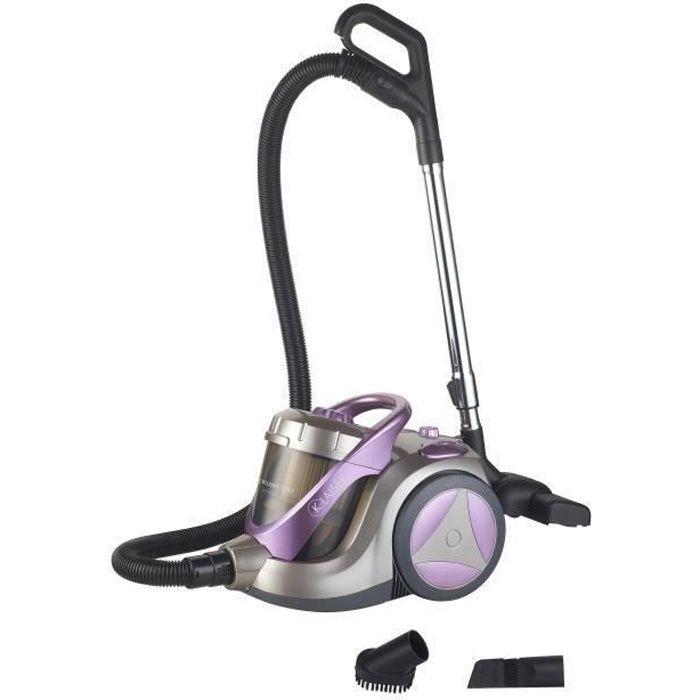 KLAISER - Puissance 2400W - Aspirateur Sans Sac Confort XL - Ultra Puissant
