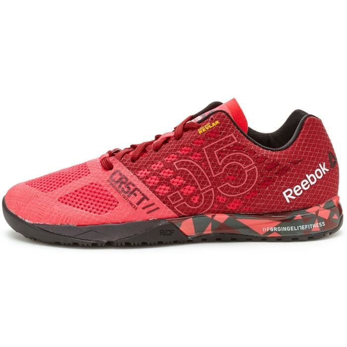 Baskets Reebok CrossFit Nano 5.0 Femmes Chaussures en Merlot Rouge - Rose V72420 [UK 7 EU 40.5]