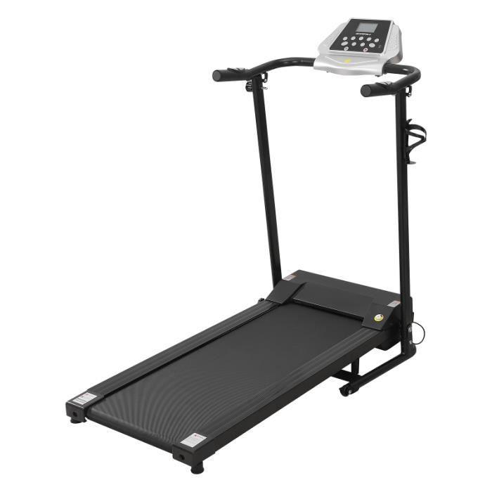 Électrique Tapis Roulant Motorisé Machine en Marches Pour Intérieur Dortoir Gym tapis de course fitness - musculation