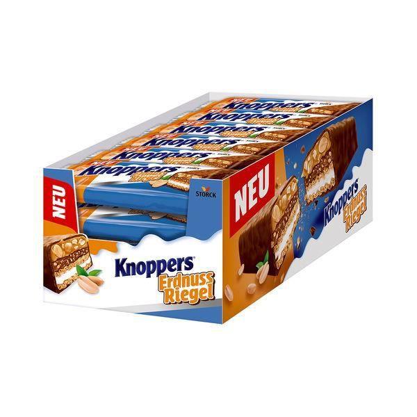 Knoppers Barres aux arachides 40g (Pack de 24)