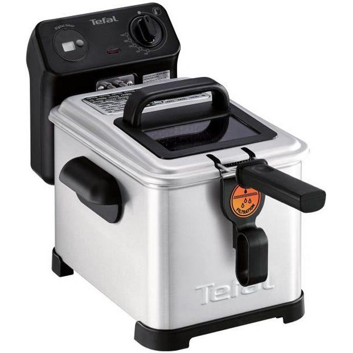 Tefal Filtra Pro FR5160, Friteuse, 1,3 kg, 4 L, 150 °C, 190 °C, Unique