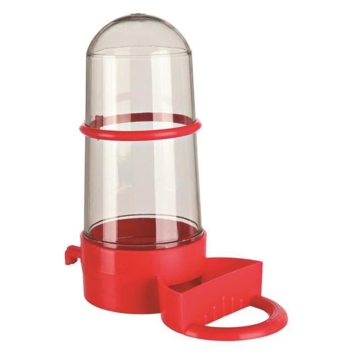 TRIXIE Distributeur eau et nourriture - 15cm - Pour oiseau