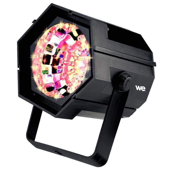 Nirvana - Stroboscope à LED multicolore - 47 LEDs 4 Couleurs - vitesse du flash réglable