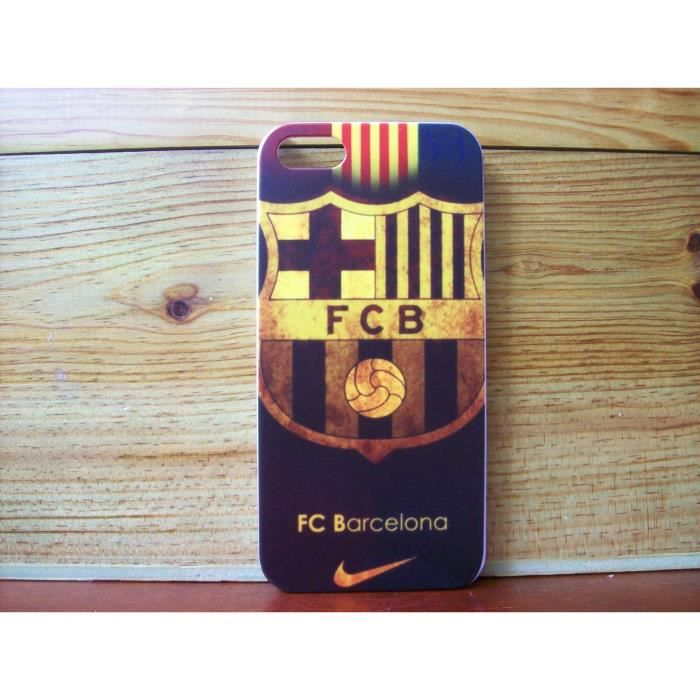 coque fc barcelone iphone 5 5s neuf achat coque bumper. Black Bedroom Furniture Sets. Home Design Ideas