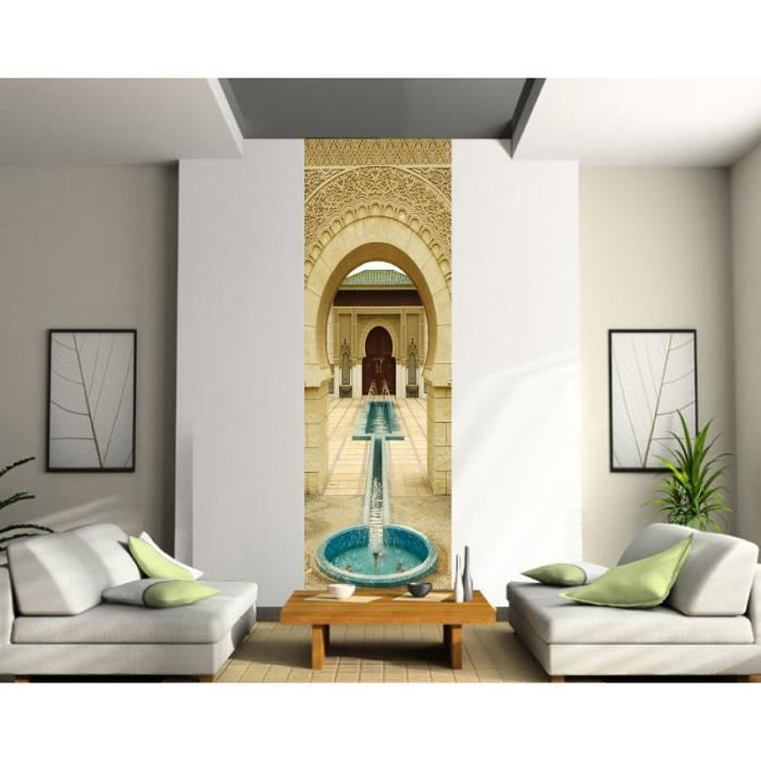 Sticker mural grand format fontaine dimensions 100x200cm - Sticker mural grand format ...