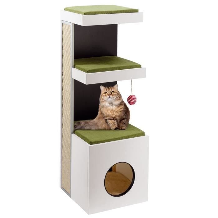 tiger arbre chats achat vente arbre chat arbre chats les soldes sur cdiscount. Black Bedroom Furniture Sets. Home Design Ideas