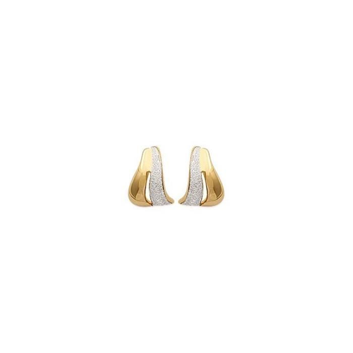 Isady - Gertrude Gold - Boucles doreilles - Plaqué or jaune 18K