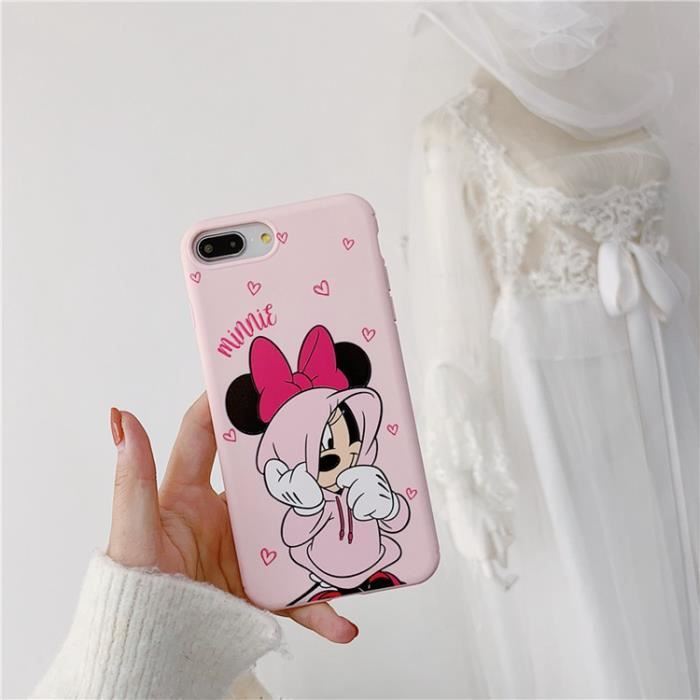 Coque iPhone 11Disney Rose Minnie Antichoc Premium Coque Compatible iPhone 11