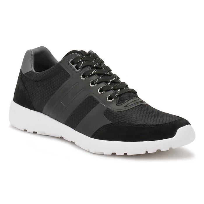 Tommy Hilfiger Homme Noir F2285URLONG l Baskets-UK 8