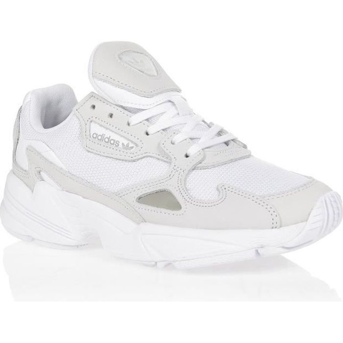 ADIDAS ORIGINALS Baskets FALCON - Femme - Blanc