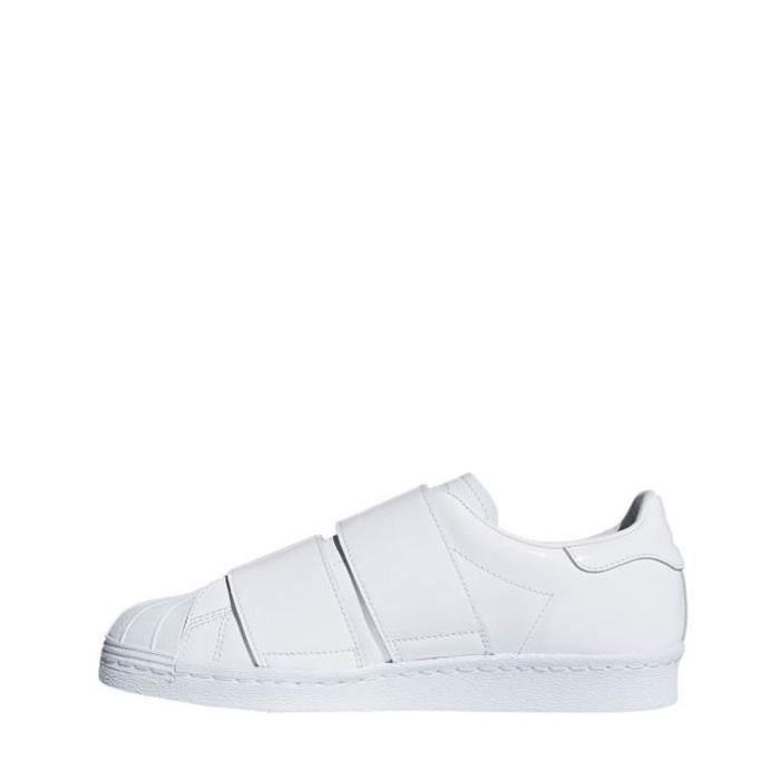 adidas superstar 80s chaussures couleur blanc vert