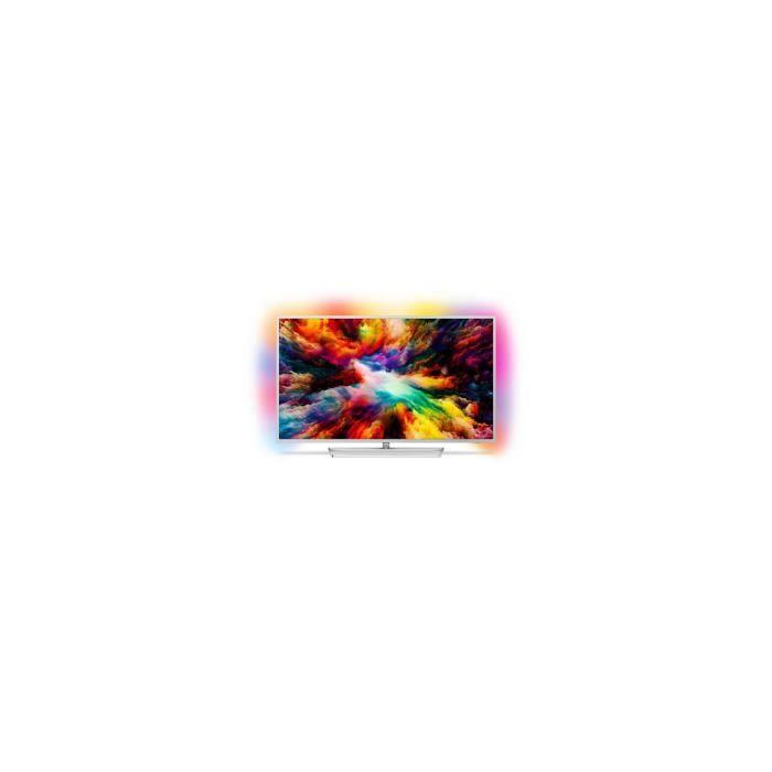 "Téléviseur LED TV intelligente Philips 50PUS7363 50"" 4K Ultra HD"