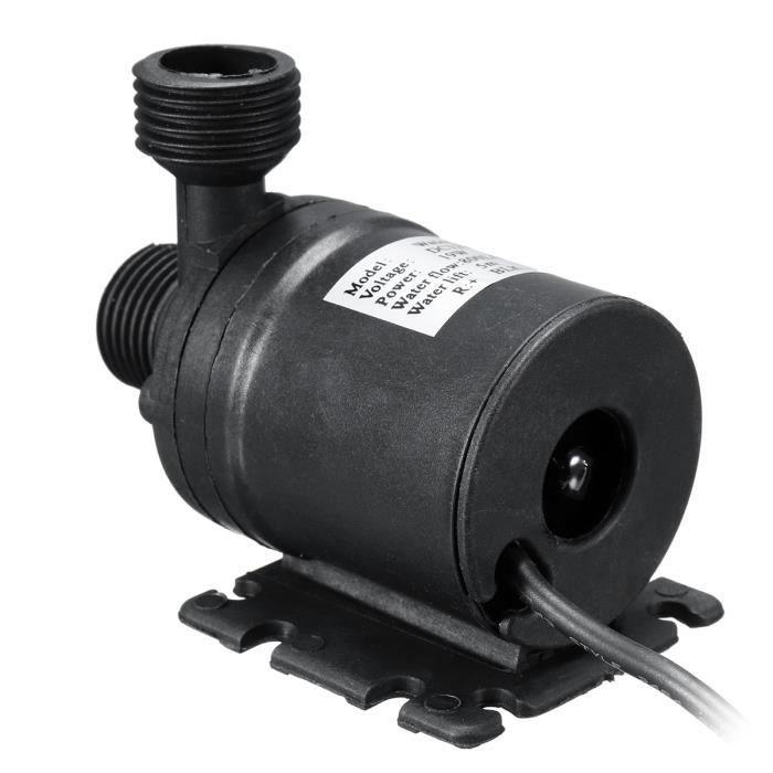 POMPE ARROSAGE Mini Pompe à Eau Submersible 800L/H Silencieux asc