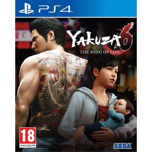 JEU PS4 Yakuza 6: The Song of Life Launch Edition Jeu PS4