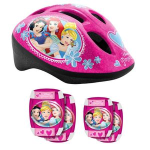 DISNEY PRINCESSES Casque + Coudi?res/Genouill?res