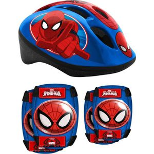 SPIDERMAN Casque + Coudi?res/Genouill?res