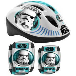 STAR WARS Protections enfant Casque + Coudi?res/Genouill?res