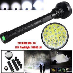 LAMPE DE POCHE Lampe de poche 24T6 noir XYQ60706127_666