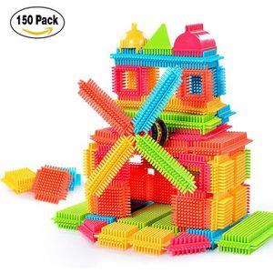 BOÎTE À FORME - GIGOGNE 150pcs forme de poil 3D blocs de construction tuil